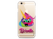 Coque iPhone X Licorne with flowers