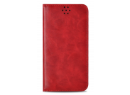 Etui Samsung Note 8 Leather Flip Flex-Rouge