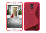 Coque LG F70 Silicone Grip-Rose
