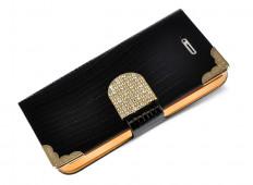 Etui HTC One M9 Luxury Croco-Noir