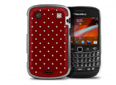 Coque BlackBerry Bold 9900/9930 Luxury Leather-Rouge