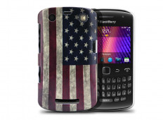 Coque BlackBerry Curve 9360 Vintage USA Flag