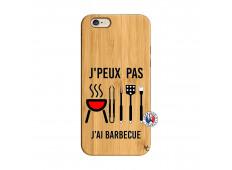 Coque Bois iPhone 6/6S Je Peux Pas J Ai Barbecue