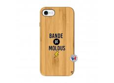 Coque iPhone 7/8 Bandes De Moldus Bois Bamboo