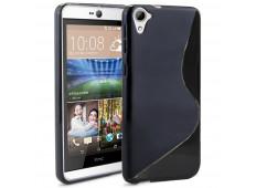 Coque HTC Desire 826 Silicone Grip-Noir