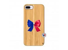 Coque Bois iPhone 7Plus/8Plus Allez Les Bleues
