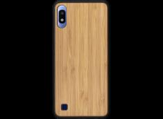 Coque Samsung Galaxy A10 en Bois Bambou (en Couleur ou en Noir)
