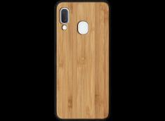 Coque Samsung Galaxy A20e en Bois Bambou (en Couleur ou en Noir)