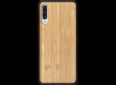 Coque Samsung Galaxy A50 en Bois Bambou (en Couleur ou en Noir)