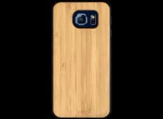 Coque Galaxy S6 en Bois Bambou (en Couleur ou en Noir)