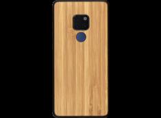 Coque Huawei Mate 20 en Bois Bambou (en Couleur ou en Noir)