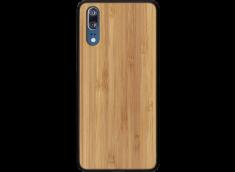 Coque Huawei P20 en VBois Bambou (en Couleur ou Noir)