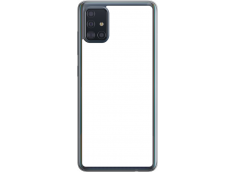 Coque Galaxy A51 Bords Rigide Transparent