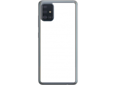 Coque Galaxy A51 Bords Silicone Translucide