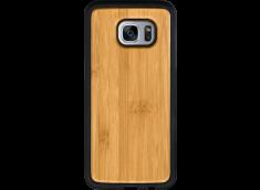 Coque Galaxy S7 Edge EN BOIS A PERSONNALISER (COULEUR OU NOIR)