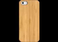Coque iPhone 5/5S/SE EN BOIS A PERSONNALISER (COULEUR OU NOIR)