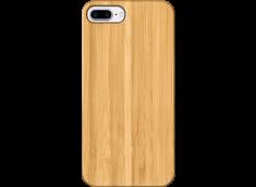 Coque iPhone 7+/8+ EN BOIS A PERSONNALISER (COULEUR OU NOIR)