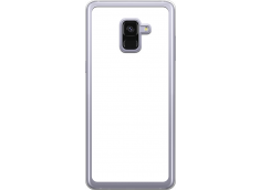 Coque Galaxy A8 2018 Bords Rigide Transparent