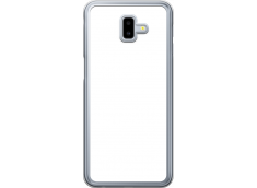 Coque Galaxy A6 Plus Bords Rigide Transparent