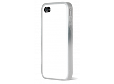 Coque iPhone 4/4S Bords Silicone Translucide V2