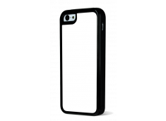 Coque iPhone 5C Bords Silicone Noir