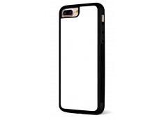 Coque iPhone 7 Plus / iPhone 8 Plus-Bords Rigide Noir