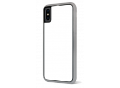Coque iPhone X/XS Bords Silicone Translucide