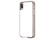Coque iPhone X/XS Bords Rigide Transparent