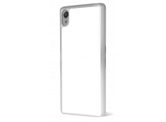 Coque transparente Xperia X bords silicone