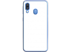 Coque Galaxy A40 Bords Rigide Transparent
