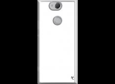 Coque Xperia XA2 Bords Silicone Transparent