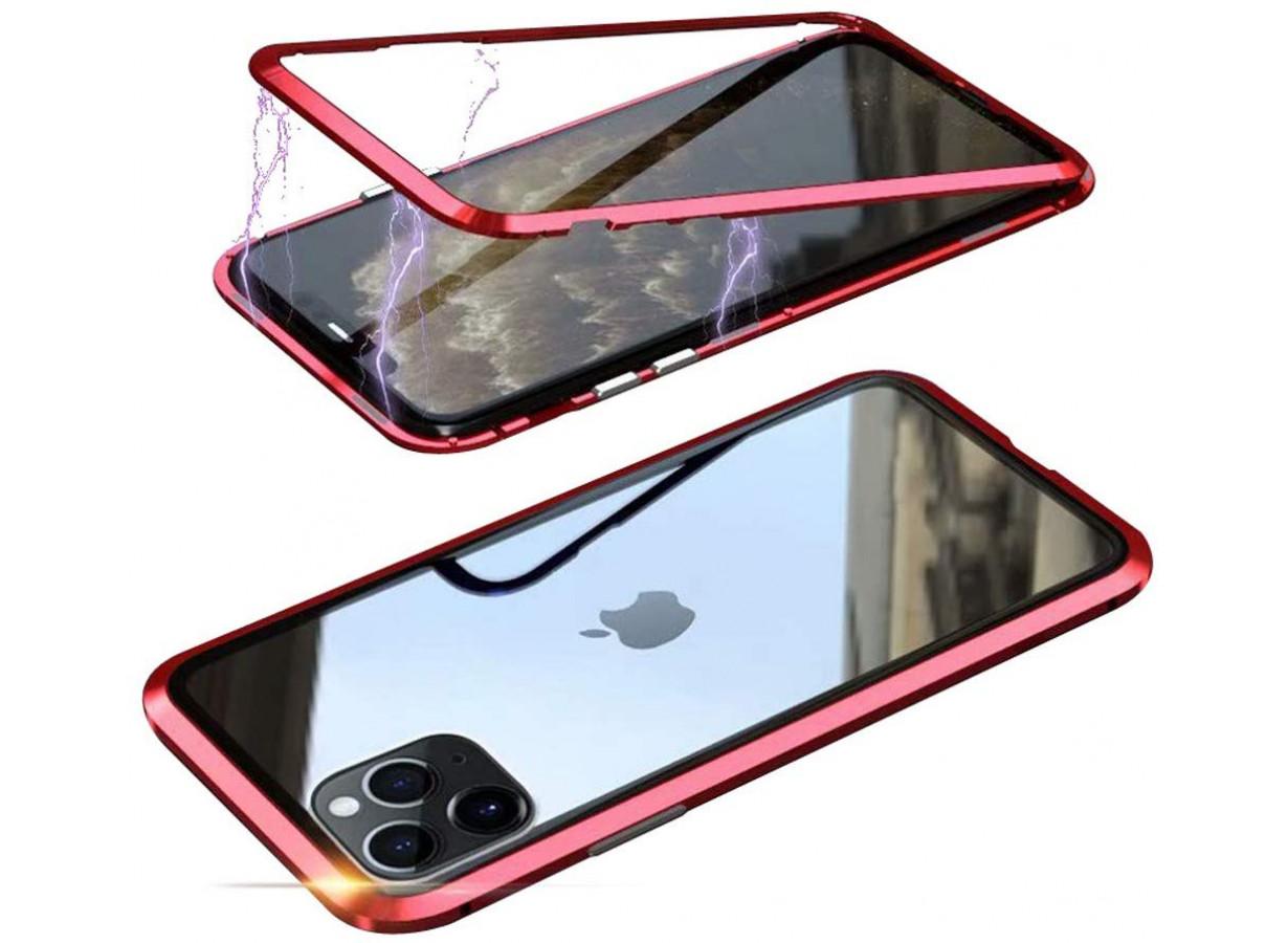 Coque magnetique iphone 11 rouge