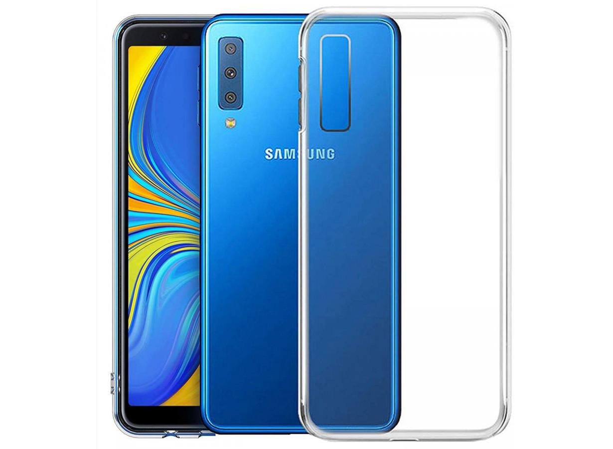 Coque Samsung Galaxy A7 2018 Clear Flex | Master Case