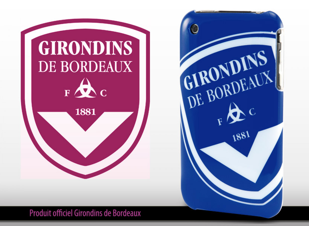 coque iphone 8 girondin de bordeaux