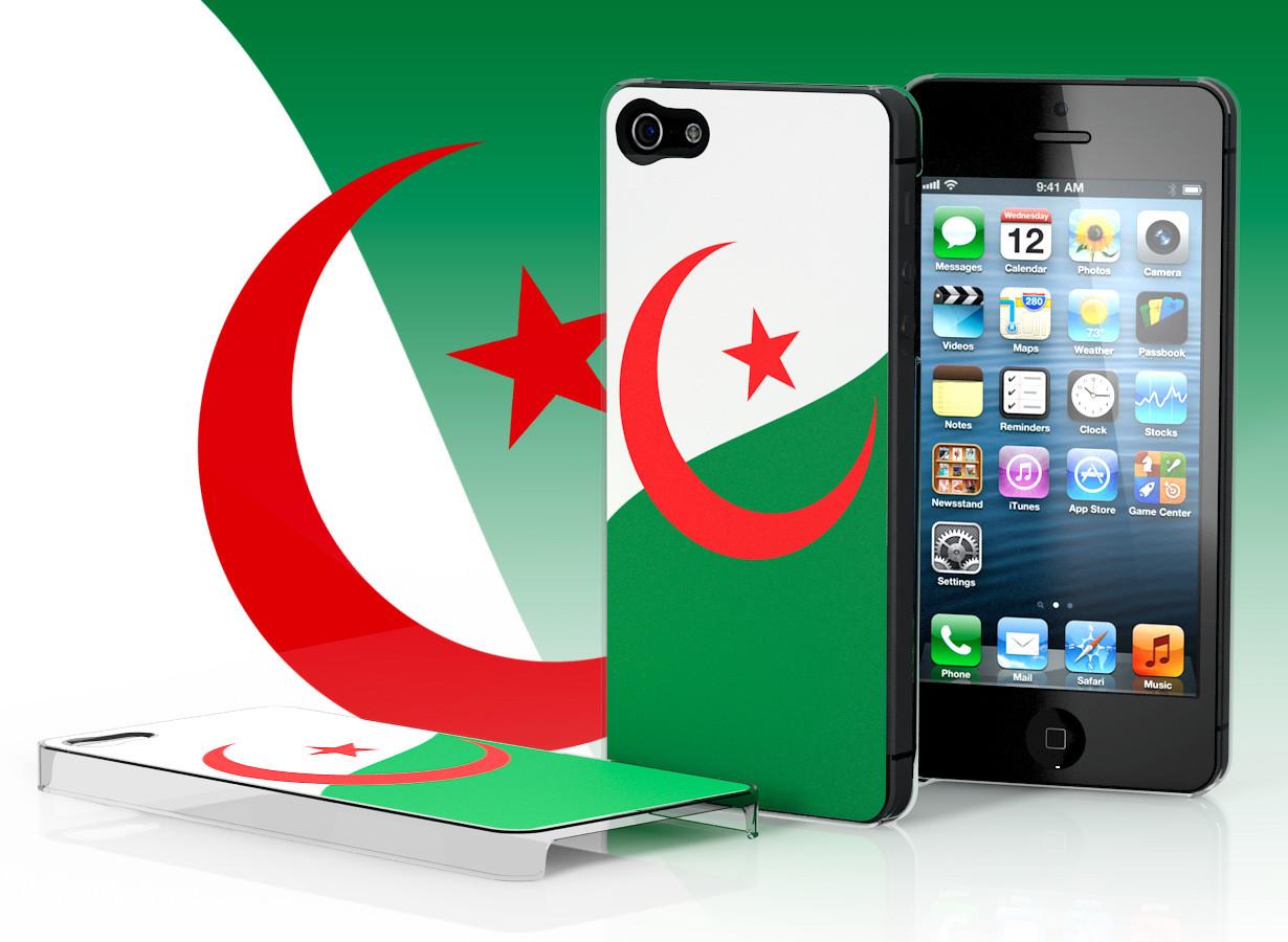 coque iphone 6 drapeau algerien