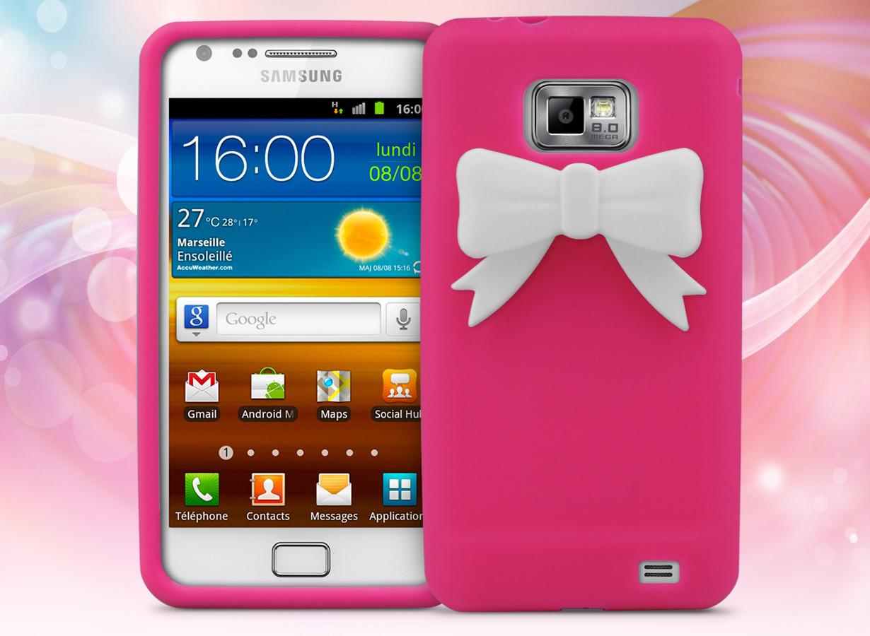 Coque Samsung Galaxy S2 - Petit Noeud   Master Case
