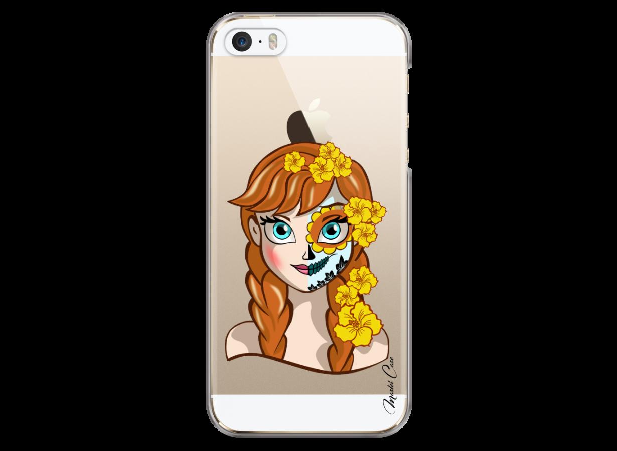 Coque iPhone 5/5s/SE Anna walt Disney face design   Master Case