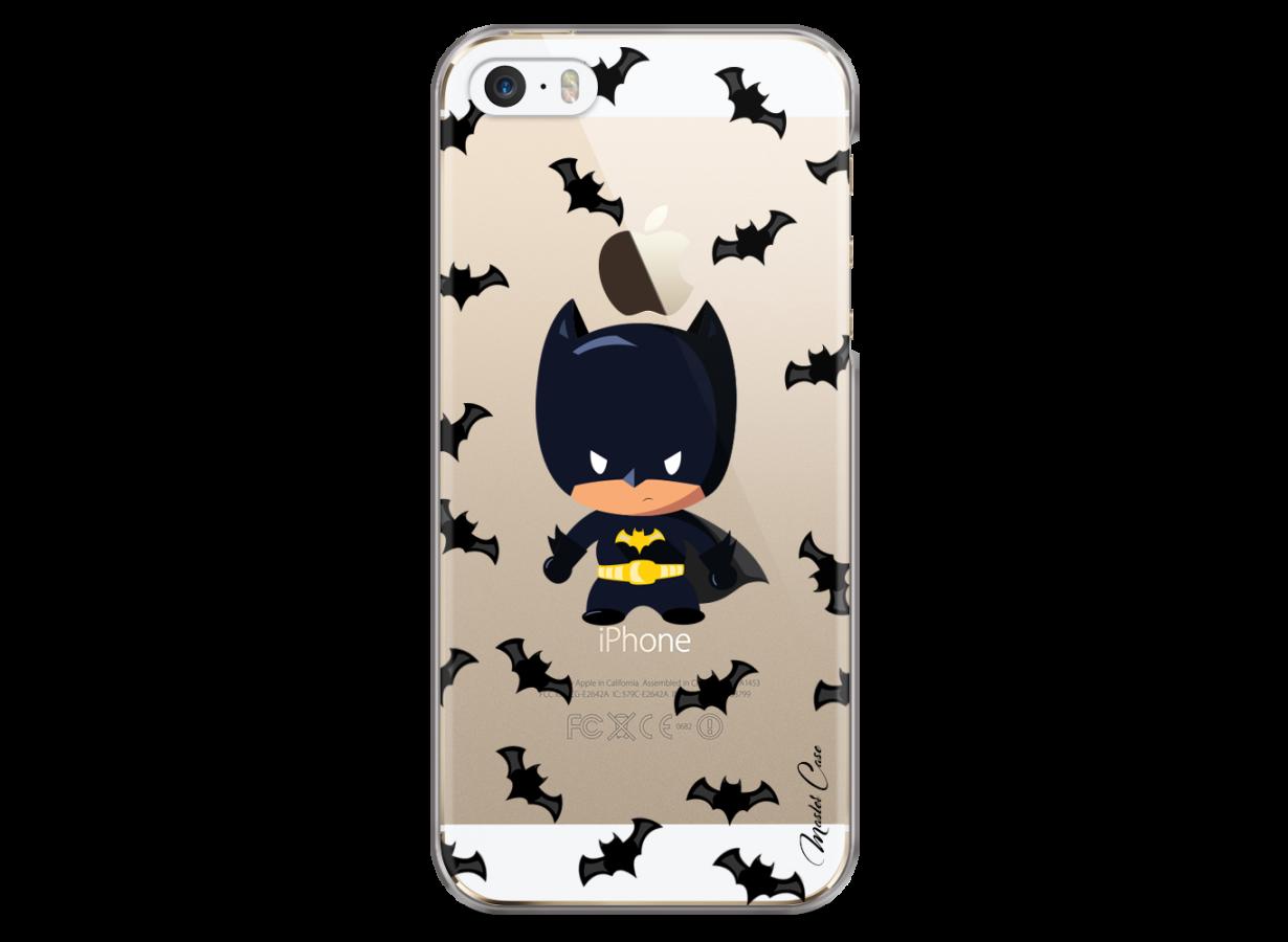 coque batman gris iphone 8