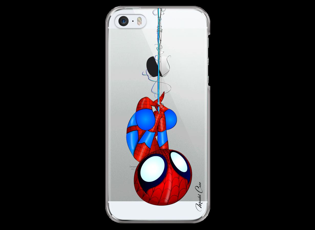 Coque iPhone 5C Spiderman super héros | Master Case