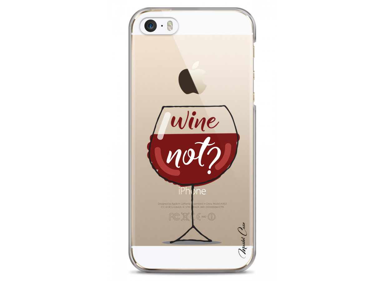 coque iphone 5 wine