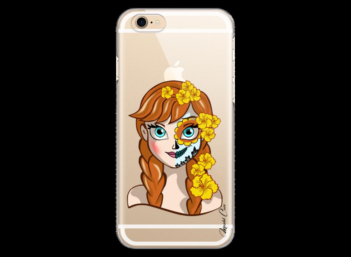 Coque iPhone 6/6S Anna walt Disney face design | Master Case