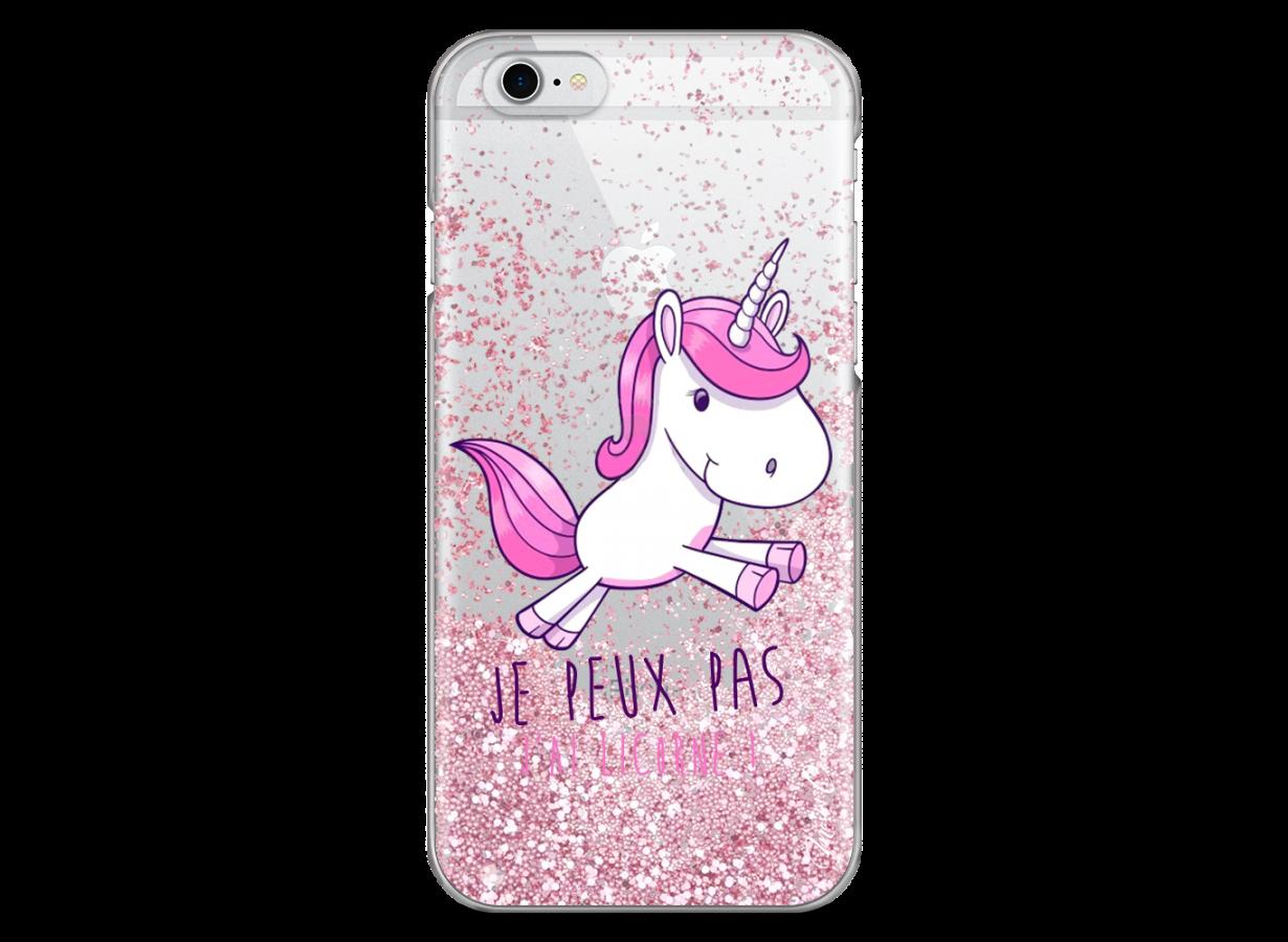 coque iphone 6 glitter