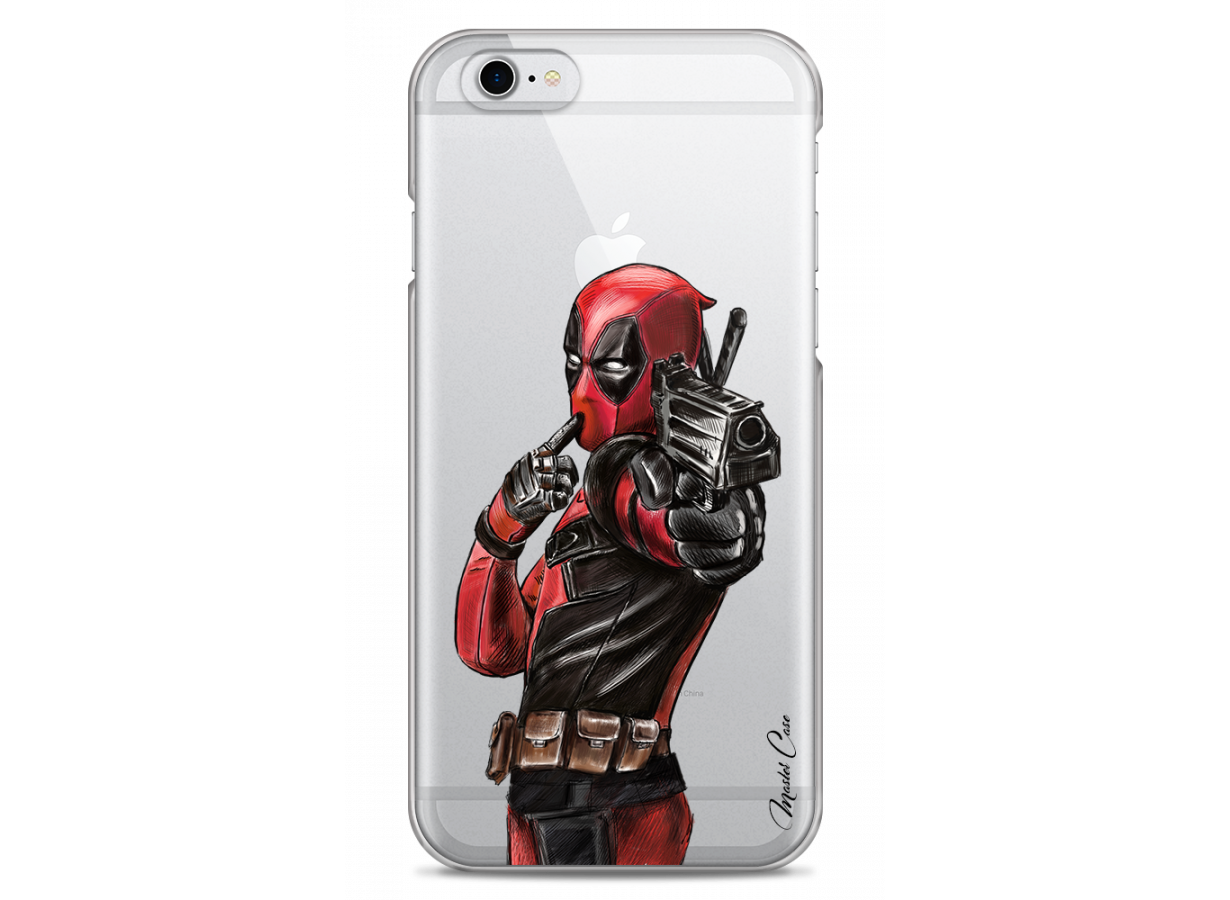 iphone 6 web deadpool 2 watercolor design