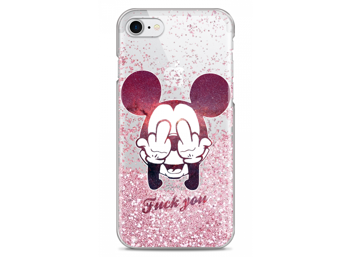 coque iphone 8 mickey noir