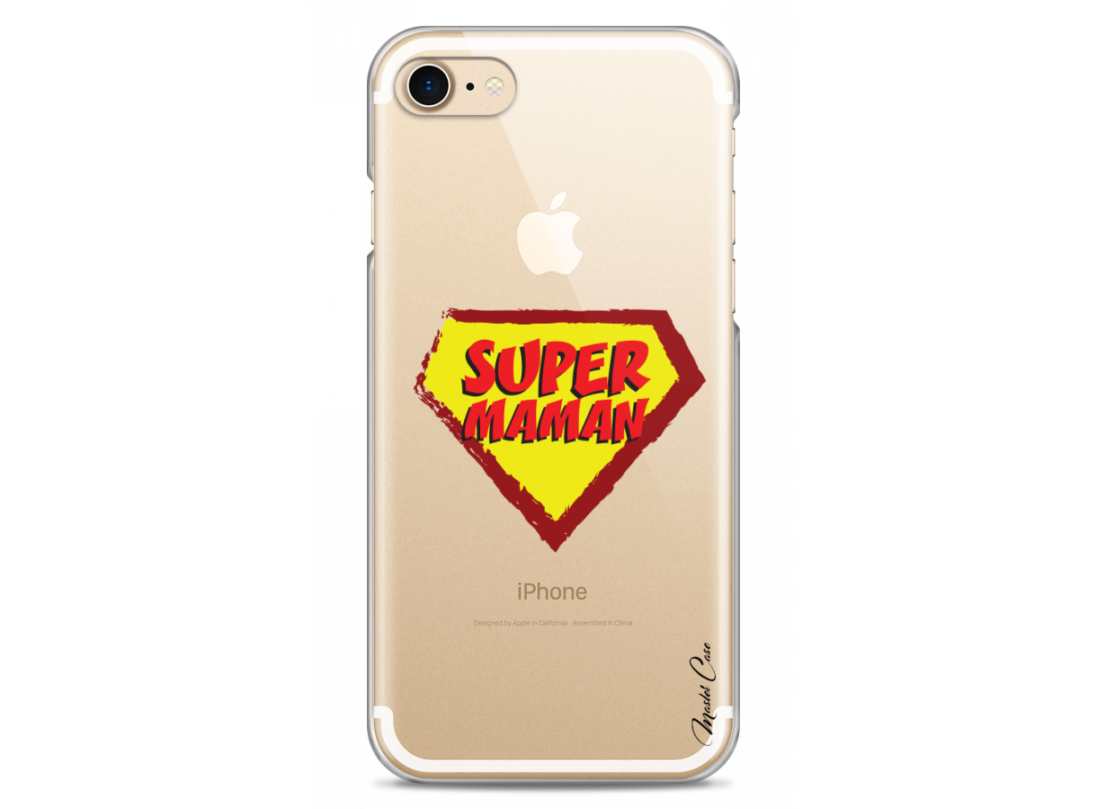 coque iphone 7 superwoman