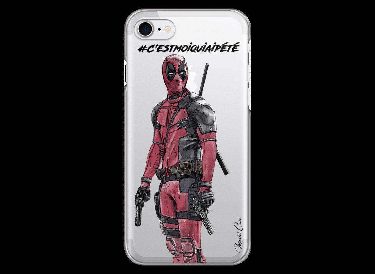 coque iphone 8 deadpool film