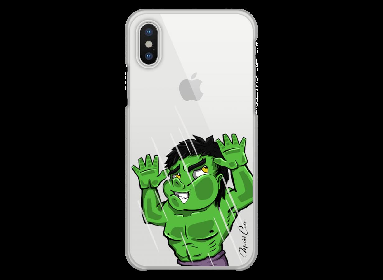 coque hulk iphone x