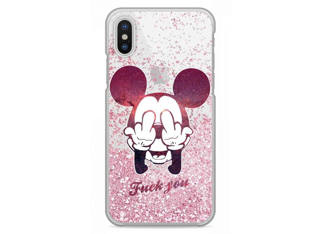 coque iphone x mickey noir