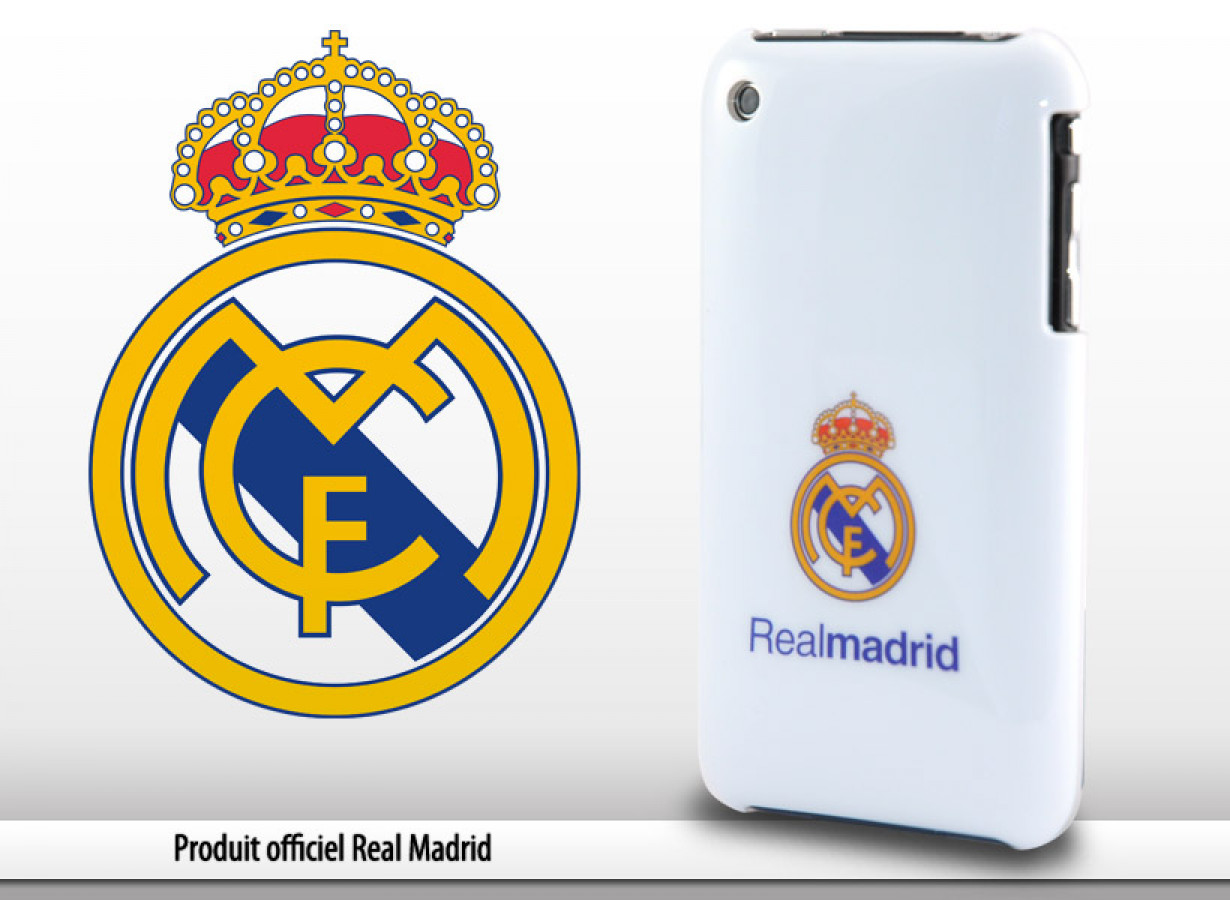 coque iphone xs real madrid