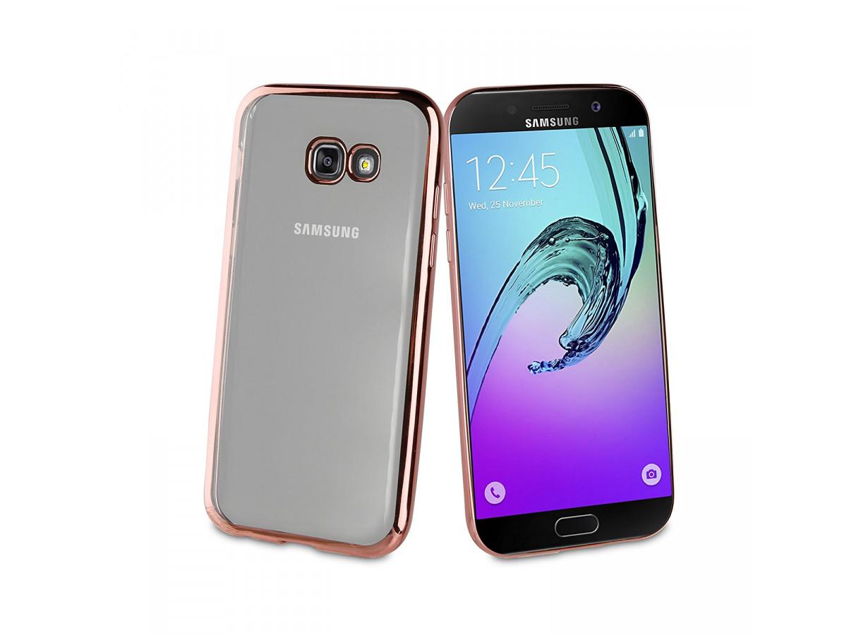 Coque Samsung Galaxy A3 2017 Rose Gold Flex | Master Case